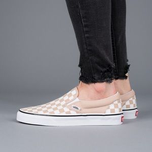 Vans Classic Slip-On Checkerboard Frappe